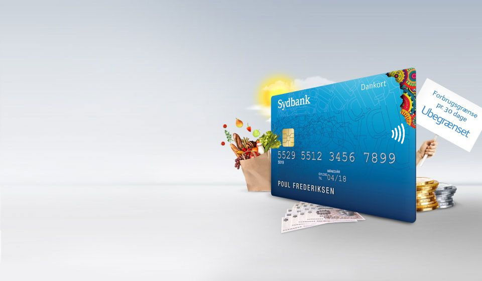 Få et gratis Dankort. Med mulighed for at designe dit eget kort