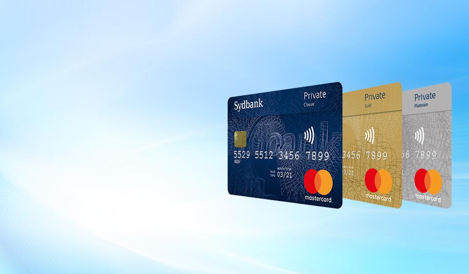 Mastercard kreditkort med rentefri kredit og rejseforsikring