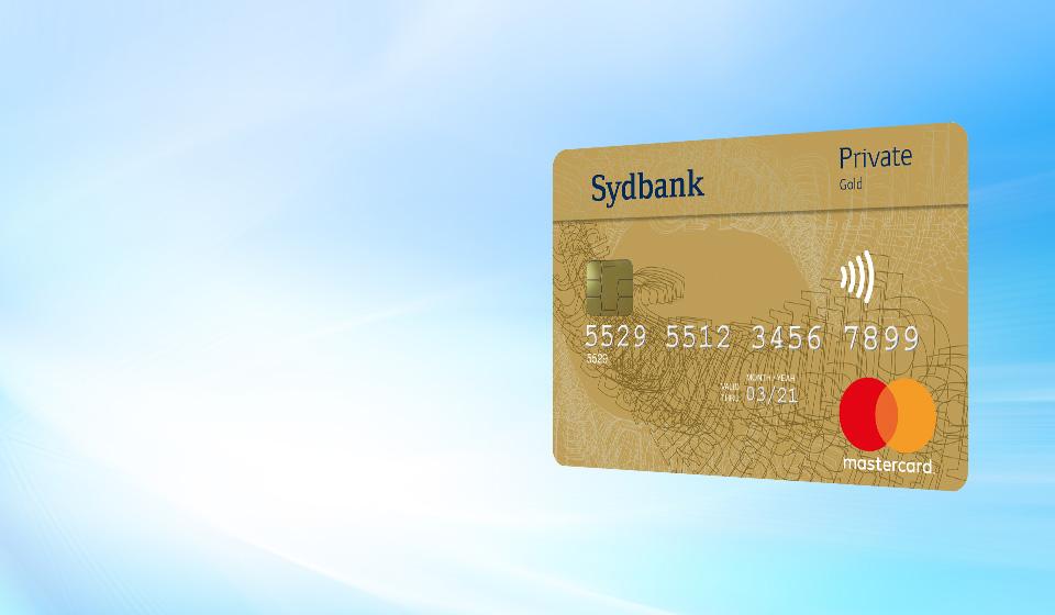 Sydbank Mastercard Private Gold Med Rejseforsikring