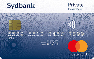 Bestil nyt Sydbank Mastercard, Dankort og VisaDankort her - Sydbank